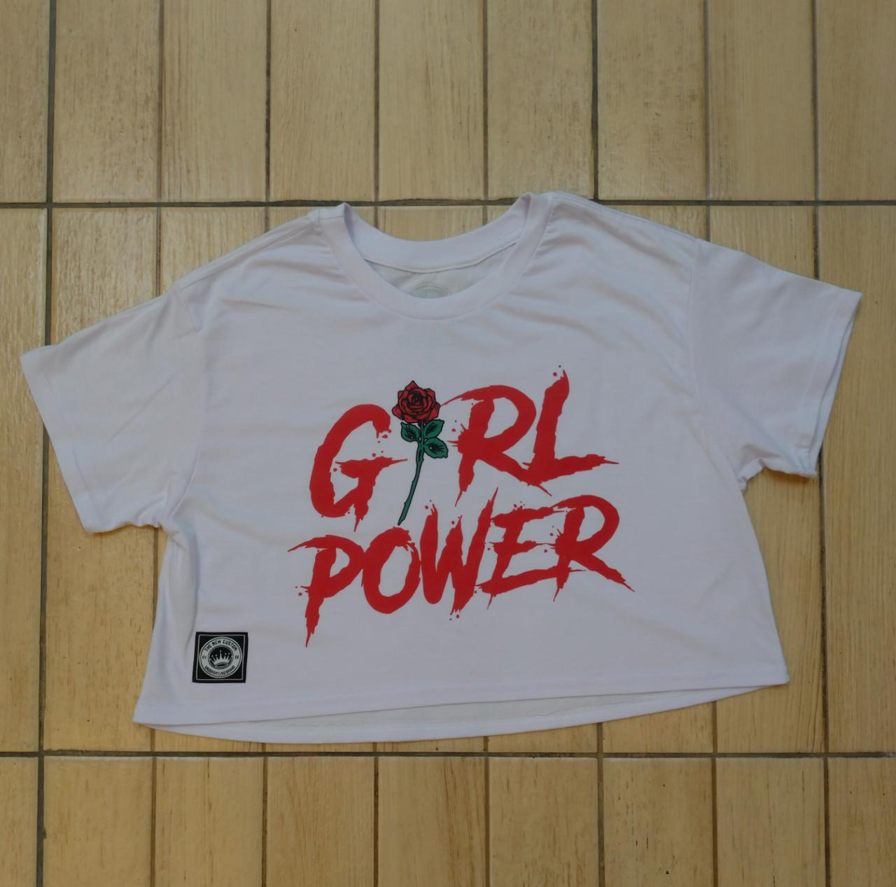Top Cropped Girl Power
