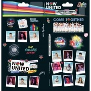 Adesivo Now United 2 folhas 100x208 | Tilibra