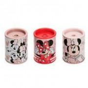 Apontador Redondo Metálico com depósito Minnie Mouse | Molin