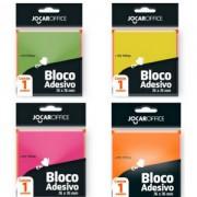 Bloco Adesivo 76x76mm 100 Folhas Jocar Office | Leonora