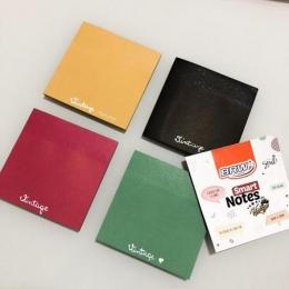 Bloco Adesivo Vintage 70x70mm 200 Folhas 4 cores | BRW
