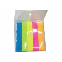 Bloco De Anotacao Sticker Adesivo Fita Com 500 Folhas Colors | Importado