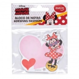 Bloco de Notas Adesivas Fashion Minnie | Molin