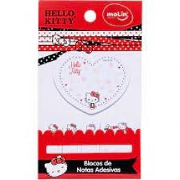 Bloco de Recado Autoadesivo Hello Kitty 5 Blocos | Molin