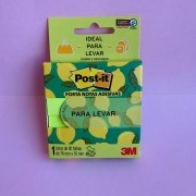 Bloco Post-It Notas Para Levar Amarelo com 90 folhas | 3M