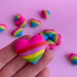 Borracha Coração Arco Iris | Kaz
