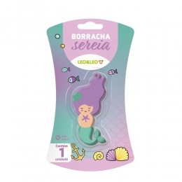 Borracha Fantasy Formas Sereia | Leonora