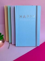 Caderno Sem Pauta Happy 80 folhas | Tilibra