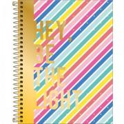 Caderno colegial 80 folhas Be Nice - Be the Light | Tilibra