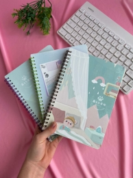Caderno De Anotação 64 Folhas | Importado