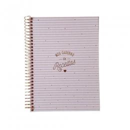 Caderno De Receitas Soho Espiral Colegial | Tilibra