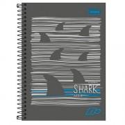 Caderno Espiral A5 Capa Dura 1/4 D+ 200 Folhas - Tubarão | Tilibra
