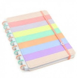 Caderno Inteligente Arco-íris A5 155x220mm | Caderno Inteligente