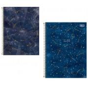 Caderno Universitário Capa Dura 10Matérias  Magic 160 Folhas - Capas Variadas | Tilibra