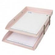 Caixa Correspondência Articulável Dupla Rosa | Dello