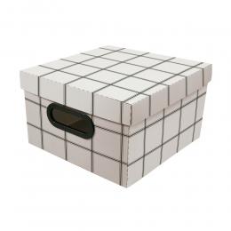 Caixa Organizadora Pequena Minimal 25X25X15CM | Dello