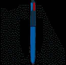 Caneta Esferográfica Bic 4 Cores Retrátil - Bic