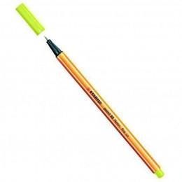Caneta Hidrográfica Fine Point 88/024 - 0,4mm - Amarelo Neon | Stabilo