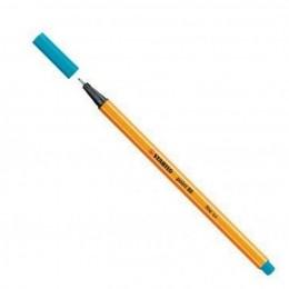 Caneta Hidrográfica Fine Point 88/31 - 0,4mm - Azul Céu   Stabilo