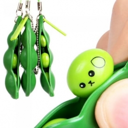 Chaveiro Ervilha Fidget Toy Brinquedo Anti stress Relaxante | Importado