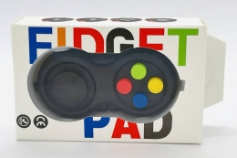 Controle de Video Game Fidget Pad Anti Estresse Relaxamento Ansiedade Fidget Toy| Importado