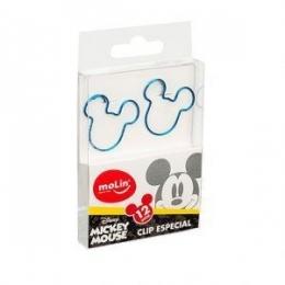Clips Face Mickey Mouse caixa com 12 unidades | Molin