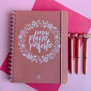 Planner Meu Plano Perfeito Rosa | Thomas Nelson
