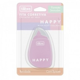Corretivo em Fita Happy 5mmX6m | Tilibra