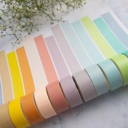 Fita Adesiva Washi Tape Rainbow Pastel 12 Cores   Importado