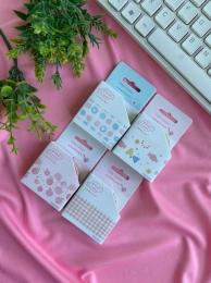 Fita Washi Tape Pink Candy Sortido| Importado