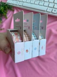 Fita Washi Tape Pink Candy Sortido  Importado