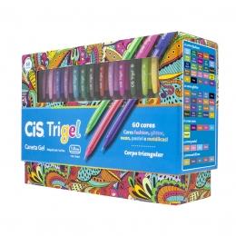 Kit Caneta Trigel 60 cores | Cis