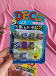 Kit Washi Tape com 9 fitas e um suporte | Importado