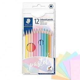 Lápis de Cor 12 Cores Pastel | Staedtler
