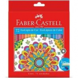 Lápis de Cor 72 Cores Ecolápis | Faber Castell