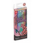Lápis de Cor Capricho Tons Especiais 10 Cores | Tris