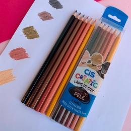 Lápis de Cor Criatic - Tons de Pele | CiS