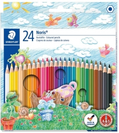 Lápis de Cor Hexagonal Noris Club 24 Cores | Staedtler