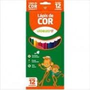 Lápis de cor sextavado 12 cores   Leo & Leo