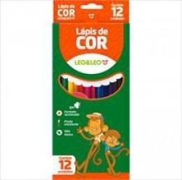 Lápis de cor sextavado 12 cores | Leonora