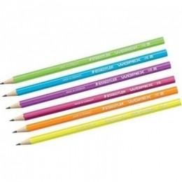 Lápis Grafite Wopex Cores Neon Cores Avulsas | Staedtler
