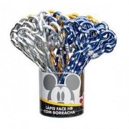 Lápis preto Face Mickey Mouse   Cores Variadas   Molin