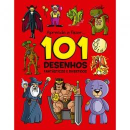 Livro Aprenda a Fazer 101 Desenhos Fantasticos e Divertidos
