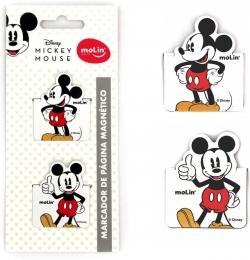 Marca Página Magnético Mickey Mouse   Molin
