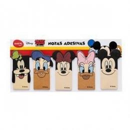 Marcador de páginas com 5 peças de 25 folhas Mickey Mouse e Amigos | Molin
