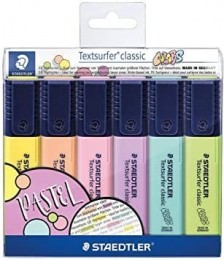 Marcador de Texto Textsurfer Classic 364 CWP6 6 Cores| Staedtler