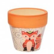 Mini Vaso Cachepot Cerâmica Boho Raposinha | Bras Continental