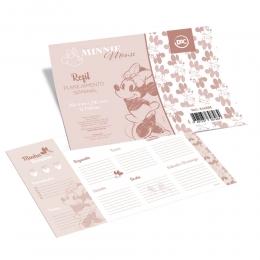 Planner com Prancheta Semanal Minnie Com 12 folhas | DAC