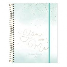 Planner Permanente de Casamento You and Me | Tilibra