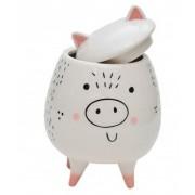 Pote Porcelana Cute Bichinhos Porquinho | Bras Continental